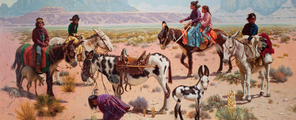 Western, Texas and American Indian Art Auctions Presented on Single Day
