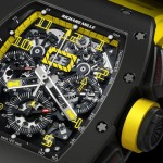 Richard Mille – New RM 011 Felipe Massa Flyback Chronograph Carbon