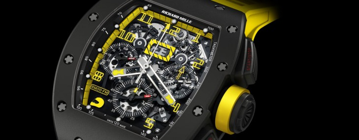 RM 011 Felipe Massa Flyback Chronograph in a carbon case