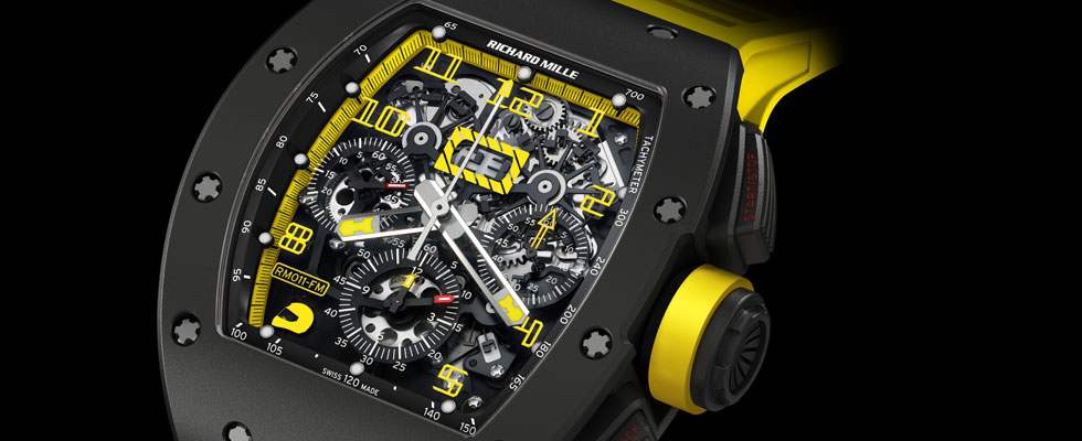Richard Mille  New RM 011 Felipe Massa Flyback Chronograph Carbon