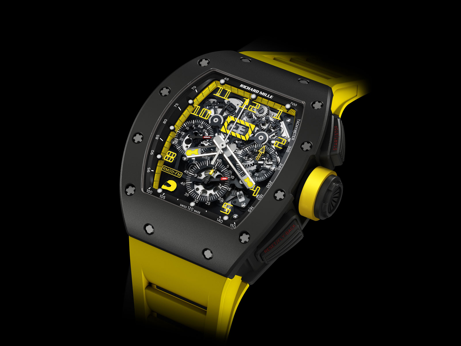 48e6793a5f0 Richard Mille – New RM 011 Felipe Massa Flyback Chronograph Carbon ...