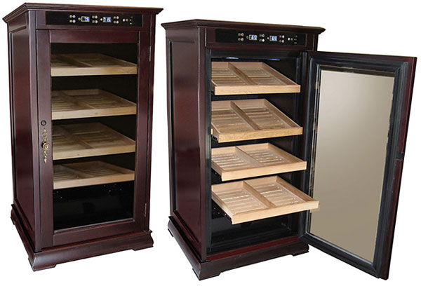 New 1st Class Electronic Cigar Humidors – Remington and Redford Cabinets Humidors