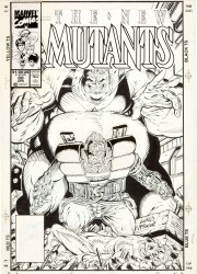 Rob Liefeld and Todd McFarlane - The New Mutants #88