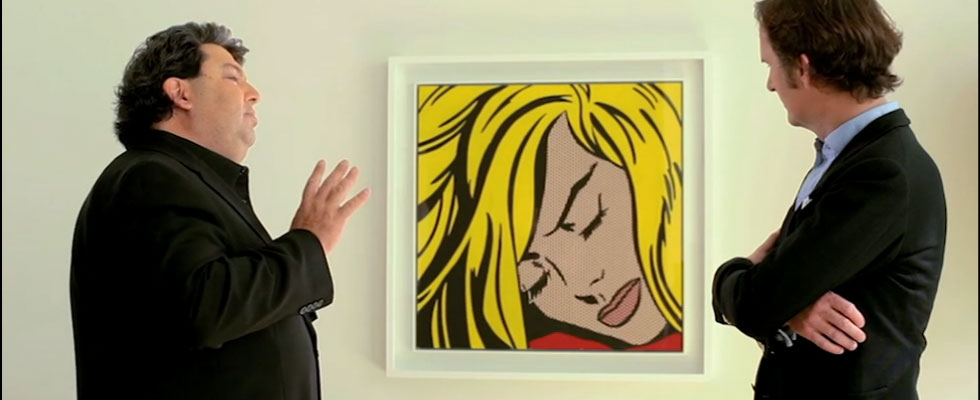 Roy Lichtenstein's Sleeping Girl painting fetches $45 million at Sotheby's