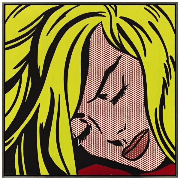 Roy Lichtenstein's Sleeping Girl