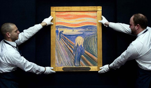 Norwegian expressionist Edvard Munch's The Scream has become the most expensive artwork sold at auction, after it fetched $119.9 million