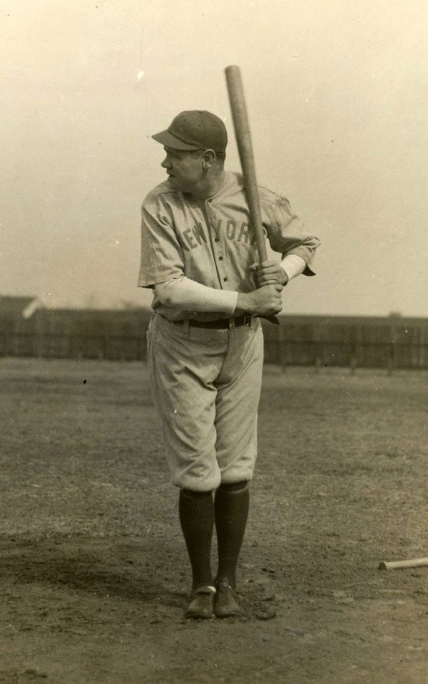 Babe Ruth at Spring Training, March 1920