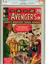The 9.6 Pacific Coast copy of Avengers #1