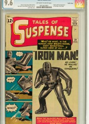 The 9.6 Pacific Coast copy of Tales of Suspense #3
