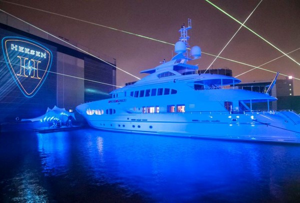 Lady Petra - Luxury Superyacht Launched by Heesen Yachts