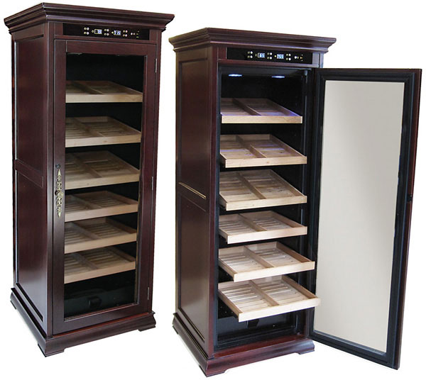 The Remington Electronic Cigar Humidor