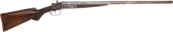 The very 12 Gauge Parker Brothers Shotgun, Serial #48767, that belonged to legendary sharpshooter Annie Oakley