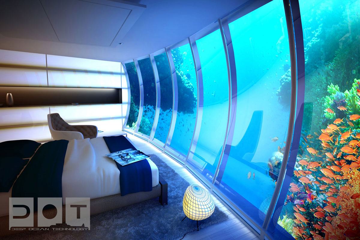 The water discus hotel emerges from the depth of dubai for The hotel dubai