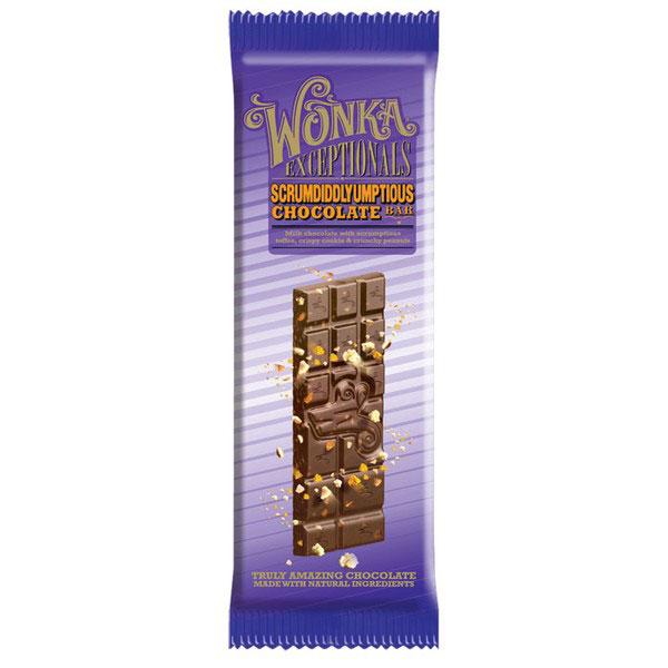 Wonka Scrumdiddlyumptious Bar