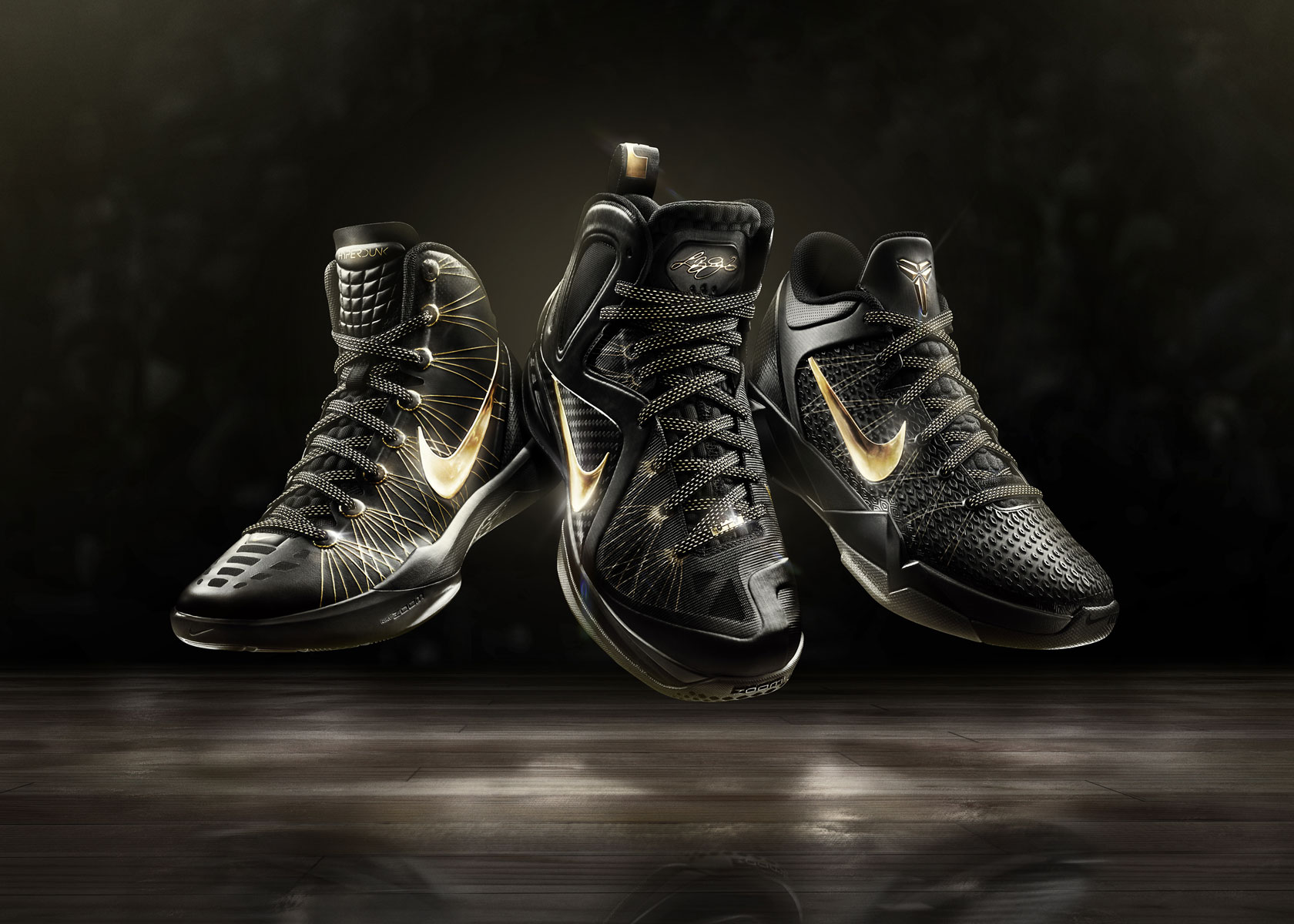 Nike&#8217;s Ultra High-end Basketball Shoes for LeBron, Kobe and Durant &#8211; Special Edition