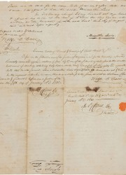 the only known document in private hands signed by both legendary American explorers Meriwether Lewis and William Clark