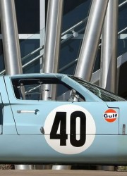 1968 Ford GT40 Gulf/Mirage Lightweight Racing Car