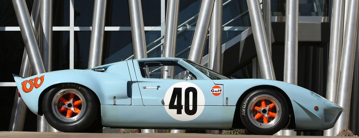 Pair of Rare Ford GT40s for Sale at RM&#8217;s Monterey Auction