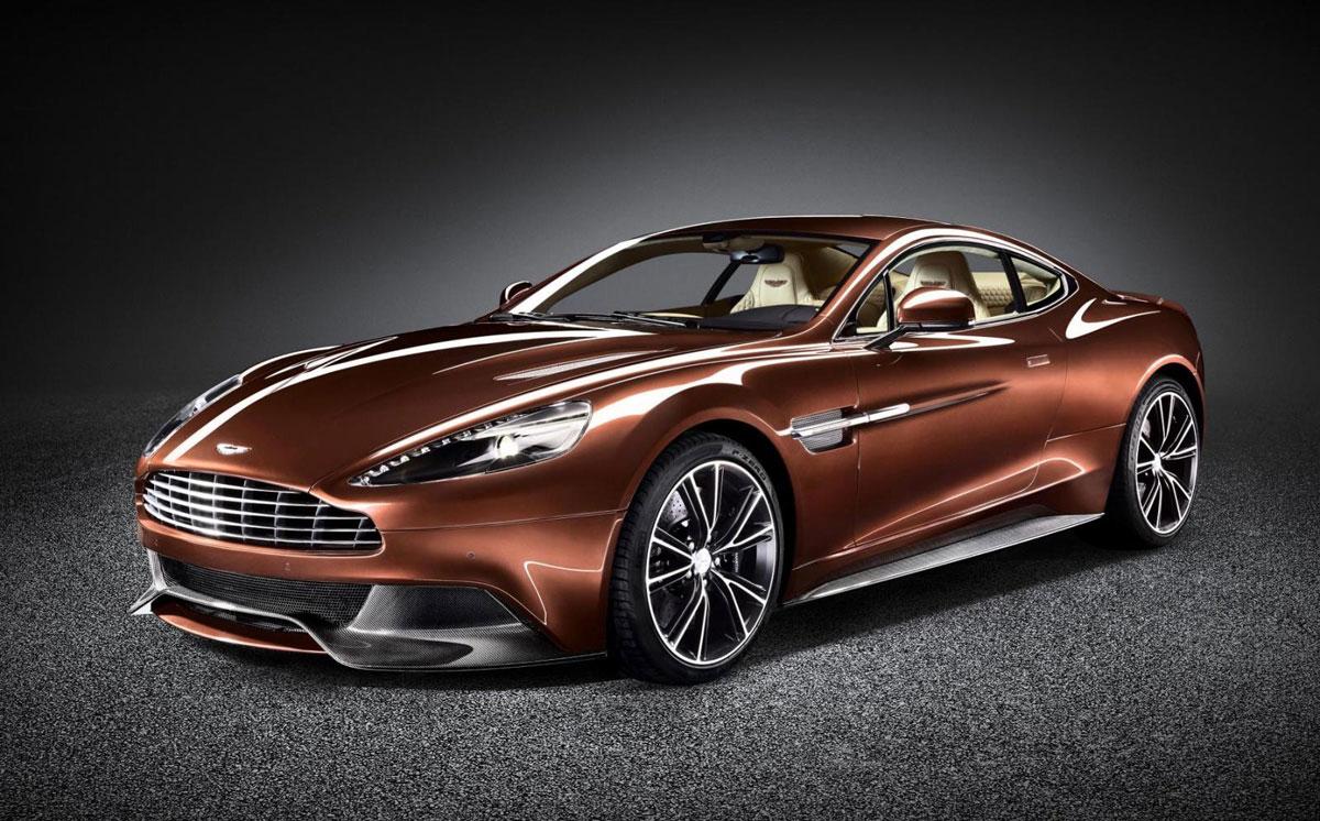 The new Aston Martin s Aston Martin Vanquish 2014