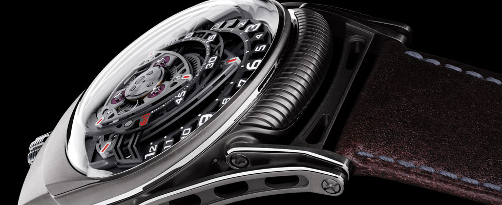 C3H5N3O9 Experiment ZR012 Watch by MB&F and Urwerk
