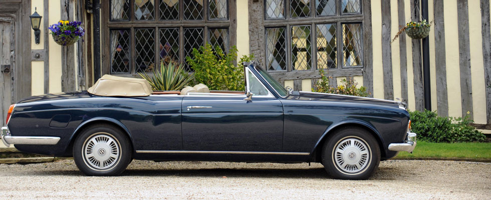 Elton John&#8217;s 1975 Bentley Corniche Goes Under the Hammer at Bonhams Sale