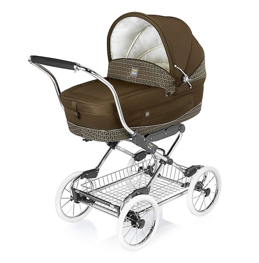 Fendi inglesina pushchair collection for babies fashionably italian