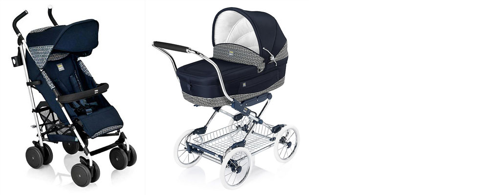 Fendi-Inglesina Pushchair Collection for Babies' Fashionably Italian lifestyle