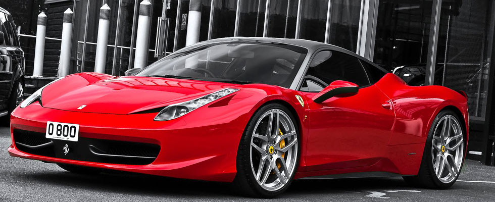 Ferrari 458 Italia Coupe by A. Kahn Design
