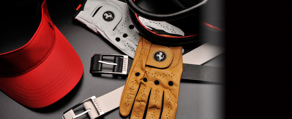 Ferrari Launches Golf Collection for Players with Passionate Lifestyle