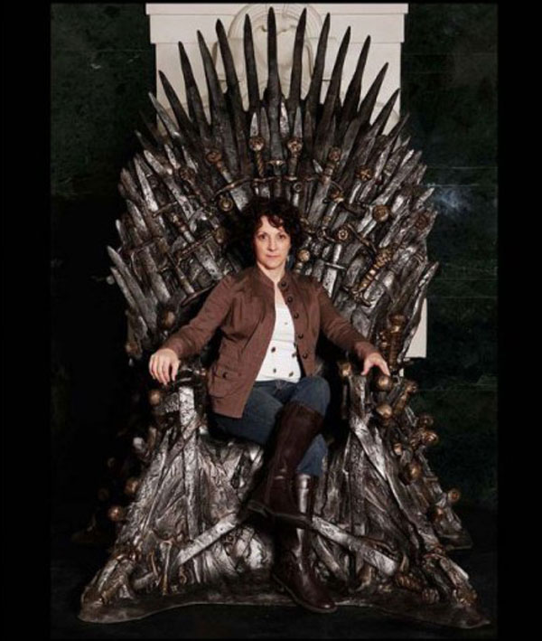 Life-size Replica of the Iron Throne of the Seven Kingdoms for $30,000