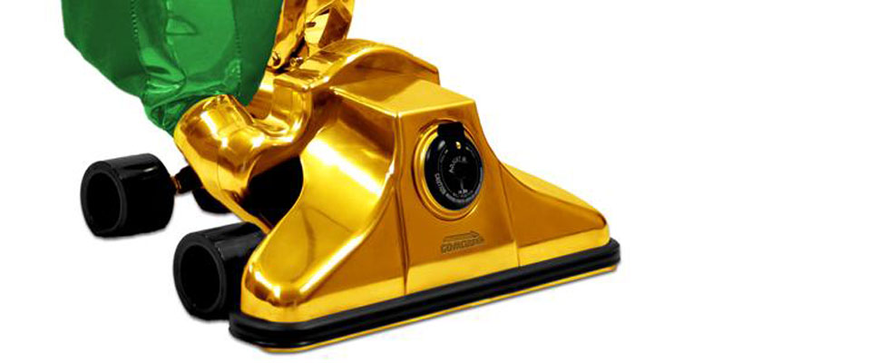 GoVacuum GV6272011 - 24K Gold-plated vacuum cleaner