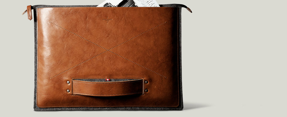 Hard Graft's New Grab Laptop Folio – Perfect Companion for Every Occasion