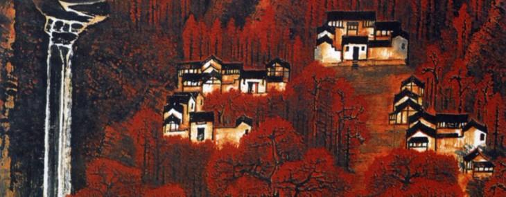 Li Keran's Wan Shan Hong Bian