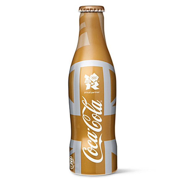 Limited Edition Gold Olympics Coca-Cola Bottle now Available at Selfridges