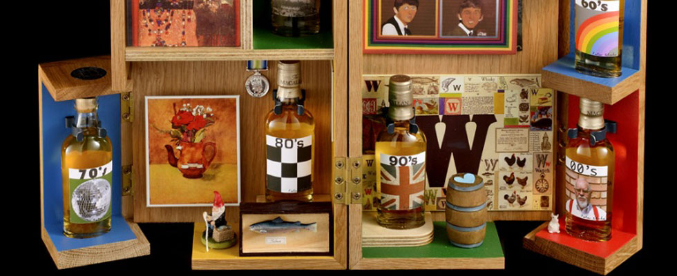 The Macallan and Sir Peter Blake celebrate eight decades &#8211; Limited Edition Box