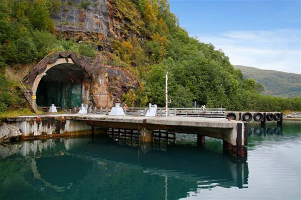 Buy Secret Submarine Base in Norway For $17.3 million