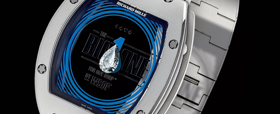 Richard Mille&#8217;s Official Bracelet for the Largest Buy-in Poker Tournament &#8211; Big One For One Drop