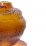 Rare Lalique's Serpent Oviform Amber Vase Could Fetch $55,000 at Bonhams