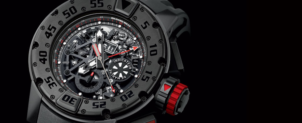Richard Mille&#8217;s New RM 032 Dark Diver Automatic Chronograph
