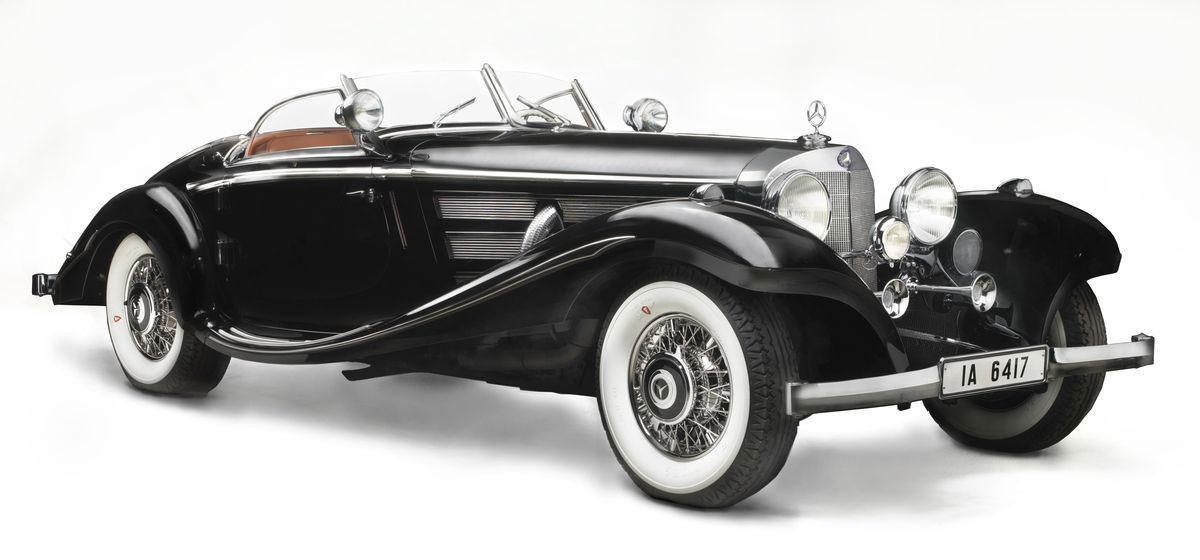Von Krieger 39 S 1936 Mercedes Benz 540k For Sale At Gooding