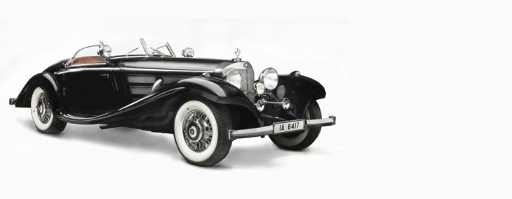 1936 Mercedes-Benz 540K Special Roadster once owned by Baroness Gisela Josephine von Kriege