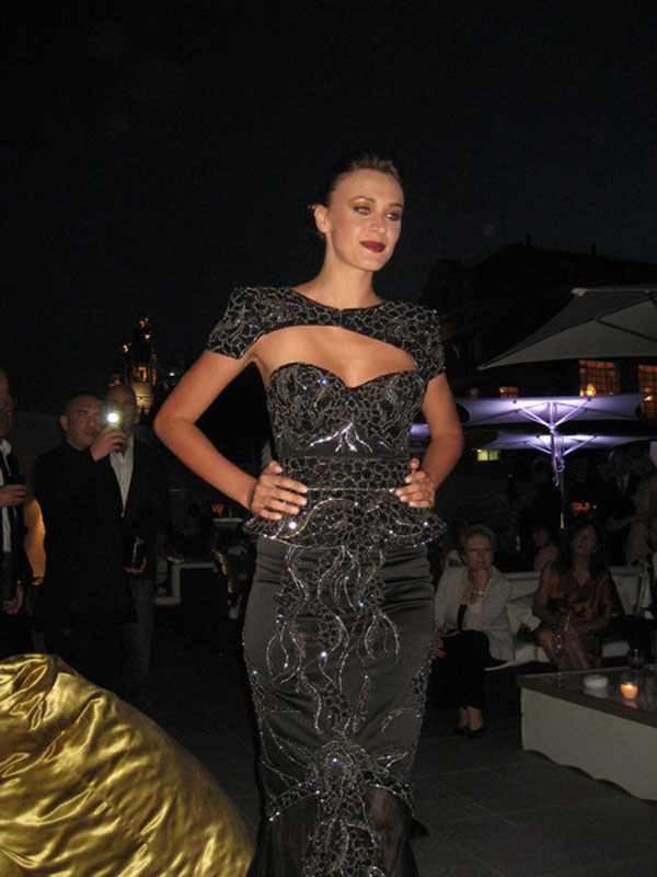 Worlds Most Expensive Black Diamond Dress Revealed in Monte Carlo