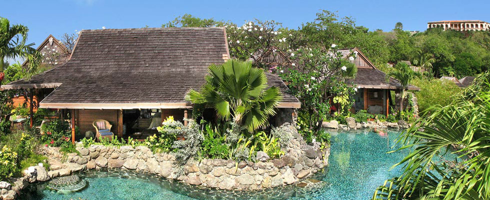 Shogun - Luxury Japanese Themed Villa's on Mustique, Carribean