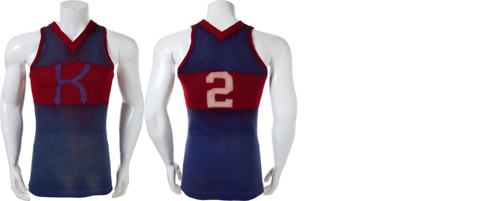1915-University-of-Kansas-Jayhawks-Game-Worn-Basketball-Jersey-4