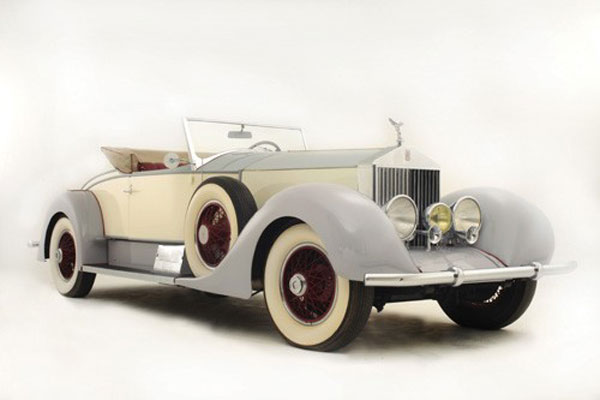 1927 Rolls-Royce Phantom I Playboy Roadster to be Auctioned by Coys