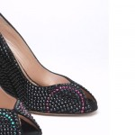 Aruna Seth's Olympic Inspired Shoes with Swarovski Crystals