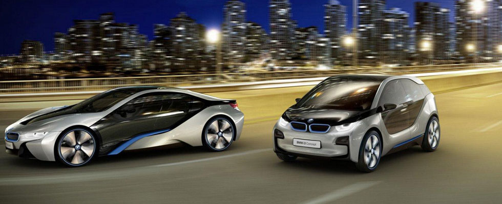 BMW i3 and i8 Electric Cars