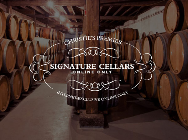 Christie&#8217;s First Online-Only Wine Auction &#8211; Signature Cellars