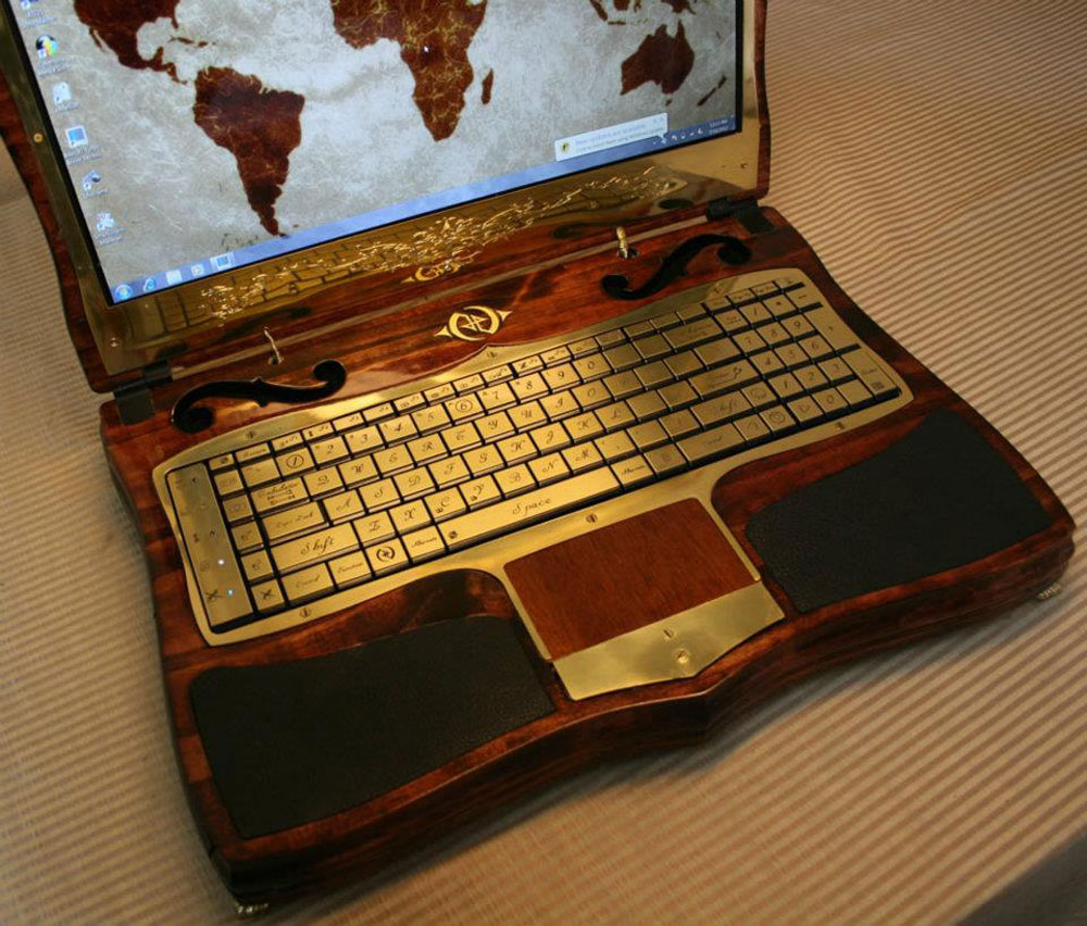 Datamancer Victorian Laptop Limited Edition Depicts An