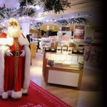 Santa Claus Arrived 151 Days Early to Open the Harrods Festive Department
